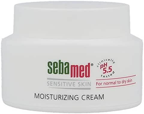 Sebamed Moisturizing Face Cream for Sensitive Skin Antioxidant pH 5.5 Vitamin E Hypoallergenic 2.6 Fluid Ounces (75mL) Ultra Hydrating Dermatologist Recommended Moisturizer