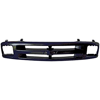 Perfit Liner New Front Black Grille Grill Replacement For Chevy Chevrolet C//K 1500 2500 3500 Pickup Truck Blazer SUV Fits Early Design GM1200228 15615108