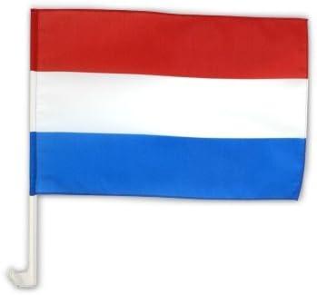 Autofahne Autoflagge Niederlande 30 X 45 Cm Sport Freizeit