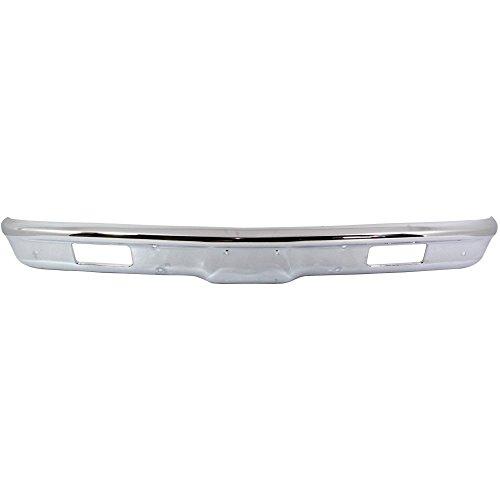 2010804 Bumper for Chevrolet C/K Full Size P/U/Suburban 71-72 Front Bumper Chrome w/Pads Holes (Chevrolet C10 Suburban Bumper)