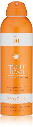 Tan Towel Bronzing Sunscreen Mist product image