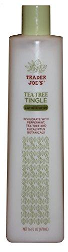 Трейдер Джо Tea Tree Tingle кондиционер с перечной мяты и эвкалипта - Жестокость Бесплатно (16 унций)