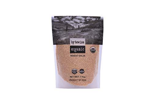 Bytewise Organic Cracked Whole-Grain Wheat / Wheat Porridge / Wheat Dalia, 2 lbs by Byte wise