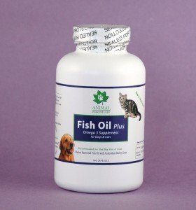 Animal Essentials Fish Oil Plus, Omega 3 Supplement for Dogs and Cats (90 Capsules), My Pet Supplies