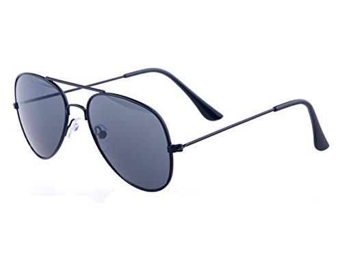Kids Baby Sunglasses Aviator Sunglasses,Shileded Metal Frame Reflective Lenses for Childrens/Boys/Girls 3-15 - Boy Little With Glasses