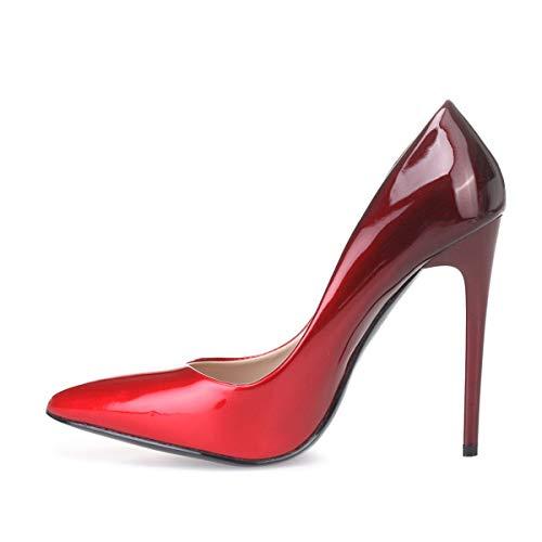 Modeuse Vestir 50607 Mujer Rojo La De Zapatos Sintético qR1x4PTdw