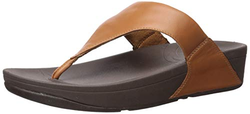 - FitFlop Women's Lulu Thong Sandal,Toffee Tan,8 M US