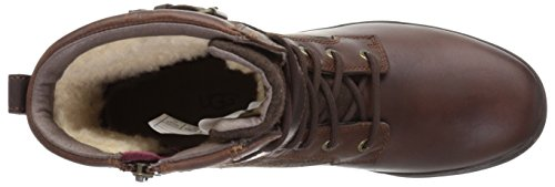 UGG Australia UGG Women's Motorcycle Boot, Brown, 6 M US Chestnut