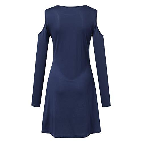 Accueil Tunique Pull Top Robe Cebbay Froid T Chemisier Blouse Femme Haut et Sweatshirt Sweat Longue Marine Chaud Manche Pullover Automne Manteau Hiver Shirt Chic Veste naYBWnA