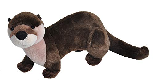 Wild Republic River Otter Plush, Stuffed Animal, Plush Toy, Gifts For Kids, Cuddlekins 12