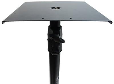 Harmony Audio HA-BKSPKS Home Audio - Studio Monitor Adjustable Height Bookshelf Speaker Stand Pair from Harmony Audio