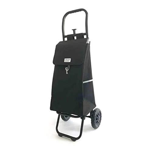 DQMSB Shopping Trolley Folding Trolley Cart 52 20 30cm Aluminum Alloy A B Style (Color : A) ()