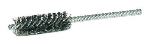 21112 7//8 in Dia 5 1//2 in Length 0.006 in Bristle Dia PRICE is per BRUSH Weiler Steel Double Spiral Tube Brush