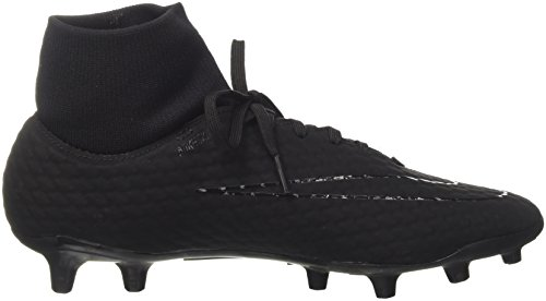 FG Football Black Noir Hypervenom DF Black Phelon de 3 Nike Chaussures 001 Homme PIqa10