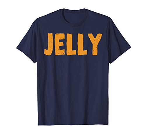 Peanut Butter T-Shirt Jelly Couples Friends Halloween Shirt ()