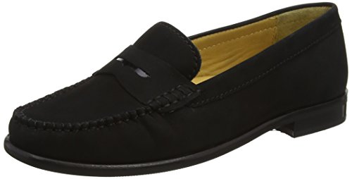 Van Dal Women's Hampden X Loafers Black (Black Nubuck) outlet shopping online buy cheap marketable AhdU95L