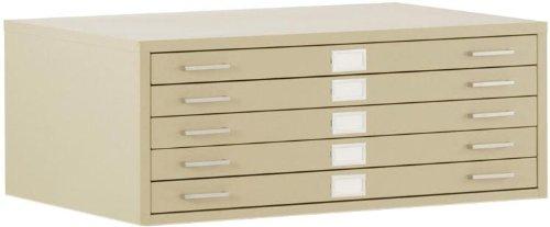 47″ Wide 5 Drawer Flat File HGA471