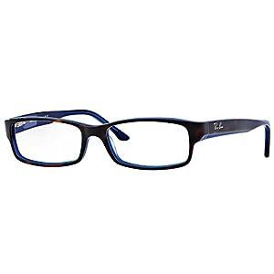 Ray-Ban RX5114 Eyeglasses-5064 Havana/Blue-52mm