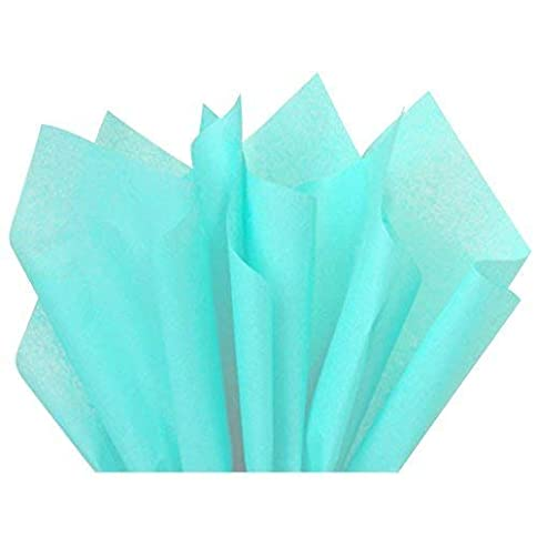 - 31ZZAZZL6iL - ShipGuard Aqua Blue Tissue Paper for Gift Bags Wrapping, Packing, Birthday Party, Festival, DIY Art Crafts, Pom Pom, Christmas and Holidays. Bulk 100 Sheets – 15 x 20 Inches