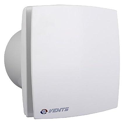 Rejilla de ventilación LD baño ventilador con temporizador, función de seguimiento, potente y silencioso