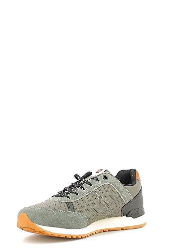 Colmar TRAVIS DRILL Sneakers Uomo Ecopelle MID GREY MID GREY 40 Grigio