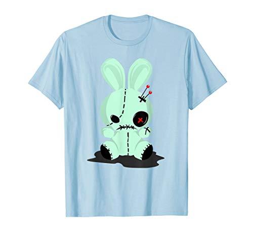 (Pastel Goth Tshirts, Green Voodoo Doll Shirt For)