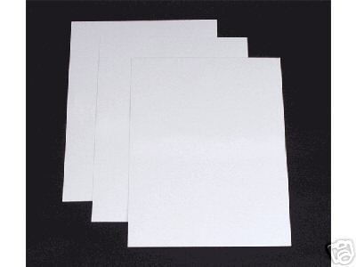 200 x A4 PREMIUM THICK WHITE PRINTER CRAFT CARD 300gsm
