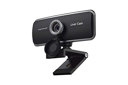 Creative Live Cam Sync 1080p Full HD Wide Angle USB Webcam with Dual Built in Mic