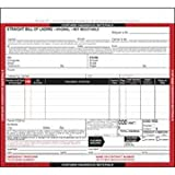 Hazardous Materials Straight Bill Of Lading - Snap-Out, 3-Ply, Carbonless (Pkg Qty 250)