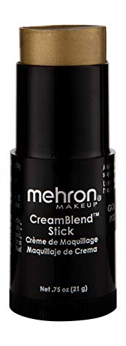Mehron Makeup CreamBlend Stick (.75 Ounce) (Gold)