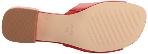 West Women's Leather Nine Xquilza Sandal Red Leather v1qRfR8