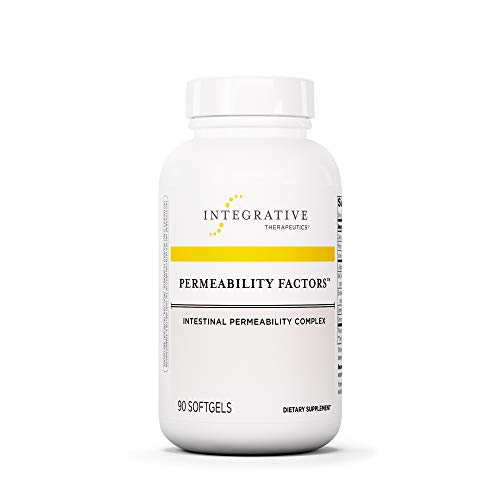 Integrative Therapeutics - Permeability Factors - Intestinal Permeability Complex - Includes L-Glutamine, Phosphatidylcholine + Other Nutrients for Healthy Gastrointestinal Function - 90 Softgels