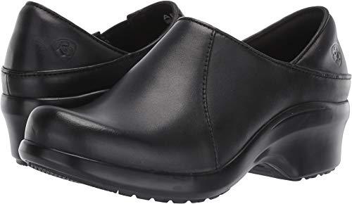 Ariat Women's Women's Hera Expert Clog, Black, 7.5 B US (Clogs Ariat Leather)