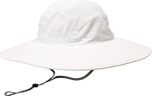 Outdoor Research Women's Oasis Sun Sombrero Hat, White, Medium