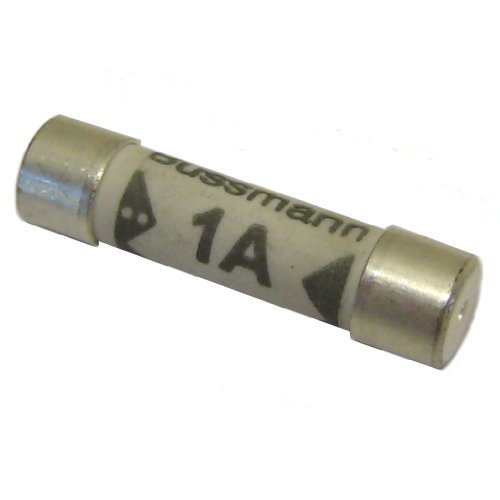 All Trade Direct 5X 1A Amp Domestic 240V Household Mains Plug Top Fuse Electrical Cartridge Fuses by All Trade Direct