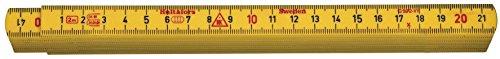Hultafors Glasfasergliedermassstab G59 -mm, 2 m, G59-2-10, 200004