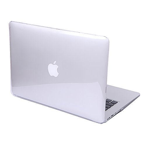 HDE Clear Plastic Hard Shell Case for Apple MacBook Air 11 inch (Models: A1370 / A1465), Crystal Clear