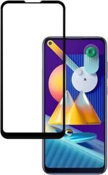 Kavacha Samsung Galaxy M11 Tempered Glass 5D 9H original Glass : Limited period promotion – Black