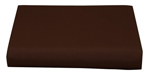 Cathay Luxury Silky Soft Polyester Single Fitted Sheet, F...