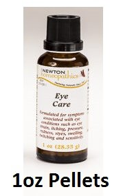 Newton Labs Homeopathics Remedy Eye Care 1oz Pellets