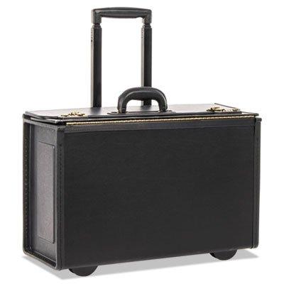 - Stebco Tufide Wheeled Catalog Case, Vinyl, 22-1/4 x 13-1/2, Black (STB251622BLK)