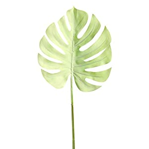 Palm Turtle Leaves, Elevin(TM) Artificial Fake Flower Small Fresh Leaves Grass Plant Bouquet Home Wedding Decor 51