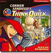 Learning Company Carmen Sandiego Think Quick Challenge for WIN/MAC (Catalog Category: PC Games / Kid Games )