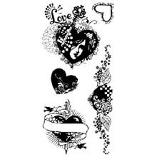Inkadinkado Clear Stamps-An Affair Of The Heart