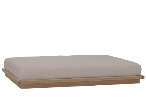 King Unfinished Bed Size (urbangreen furniture unfinished maple Calvin Low California King Platform Bed)