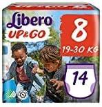 Total 112 pa/ñales Libero UP-GO Talla 8 19-30 kg Paquetes 8 Paquete de repuesto