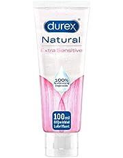 Durex Glijmiddel Natural - Extra Sensitive - 100% natuurlijk - waterbasis - 100 ml