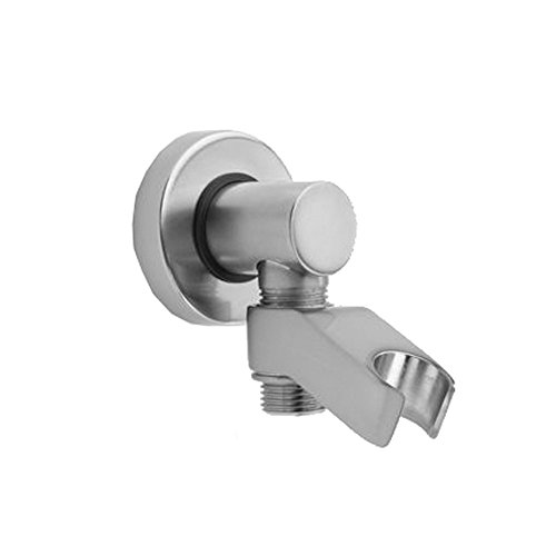 Jaclo 6486-BKN - Contemporary Water Supply Elbow with Handshower Holder (Supply Jaclo Elbow Water)