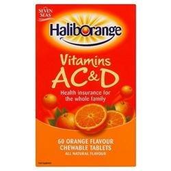 Haliborange Vitamins Ac & D Orange 60 Tablets Pack Of 6 (Vitamin Haliborange)