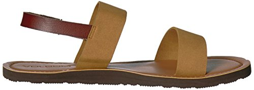 Slide Stone Slide Sandal Stone Sandal Caramel Womens Volcom xRB5qTA